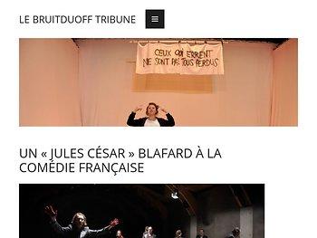Un «Jules César» blafard à la Comédie française