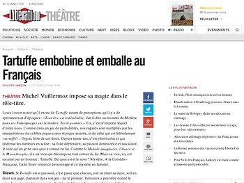 Tartuffe embobine et emballe au Français
