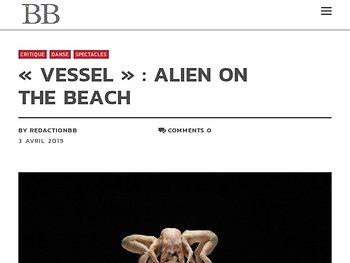 Alien on the beach