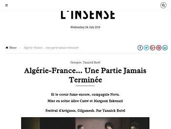 Algérie-France… une partie jamais terminée