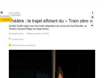 Le trajet affolant du «Train zéro»
