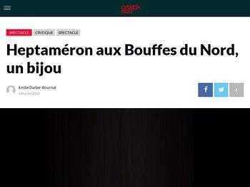 Heptaméron aux Bouffes du Nord, un bijou