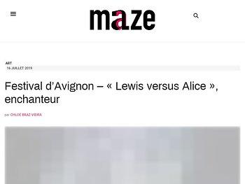 « Lewis versus Alice », enchanteur
