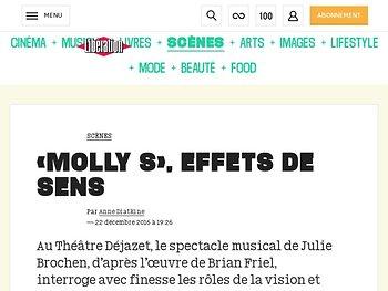 «Molly S», effets de sens