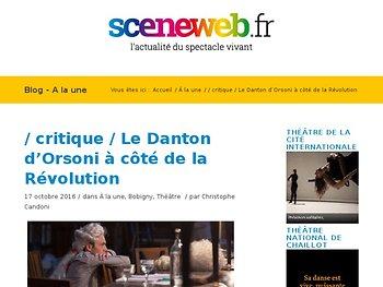 Le Danton d'Orsoni à côté de la Révolution