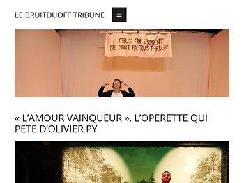 «L'AMOUR VAINQUEUR», l'operette qui pète d'Olivier Py