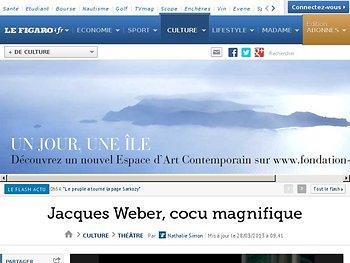 Jacques Weber, cocu magnifique