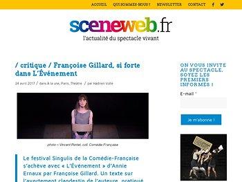 Françoise Gillard dans L'Événement d'Annie Ernaux