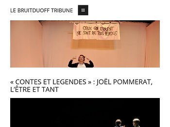 «Contes et légendes» : JJoël Pommerat, l'être et tant