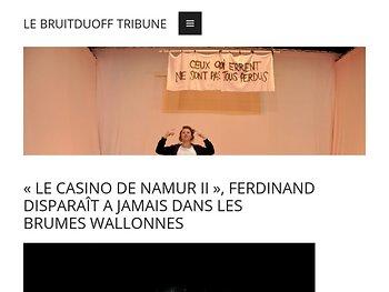 «Le Casino de Namur II», Ferdinand disparait à jamais dans les brumes wallones