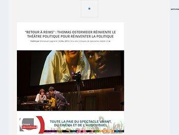 Thomas Ostermeier réinvente le théâtre politique pour réinventer la politique