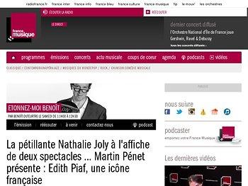 La pétillante Nathalie Joly à l'affiche de deux spectacles