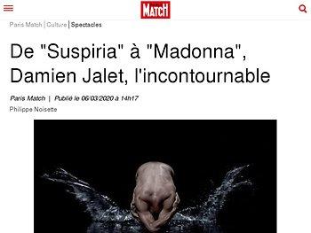 """De """"Suspiria"""" à """"Madonna"""", Damien Jalet, l'incontournable"""