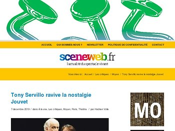 Tony Servillo ravive la nostalgie Jouvet