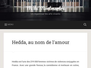 Hedda, au nom de l'amour