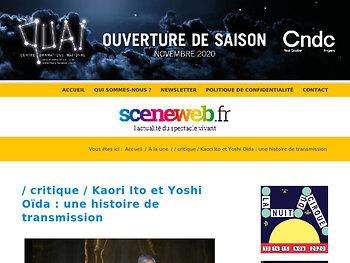Kaori Ito et Yoshi Oïda : une histoire de transmission