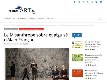 Le Misanthrope sobre et aiguisé d'Alain Françon