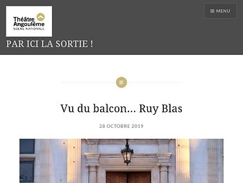 Vu du balcon… Ruy Blas