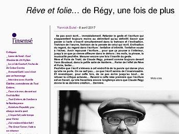 L'insensé : Rêve et folie… de Régy, une fois de plus