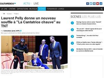 """Laurent Pelly donne un nouveau souffle à """"La Cantatrice chauve"""" au TNT"""
