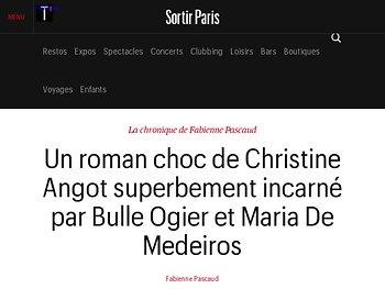 Un roman choc de Christine Angot superbement incarné par Bulle Ogier et Maria De Medeiros