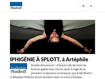 """""""Iphigénie à Splott"""", une Iphigénie des laissés-pour-compte"""