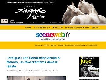 Les Centaures Camille & Manolo, un rêve d'enfants devenu réalité