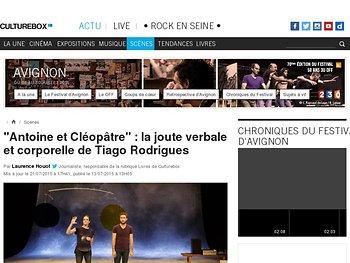 La joute verbale et corporelle de Tiago Rodrigues