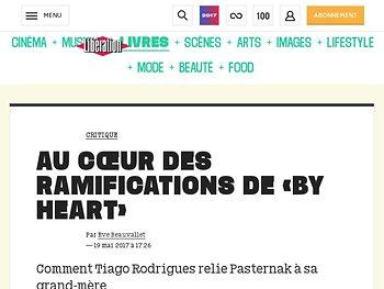 Au cœur des ramifications de «By Heart»