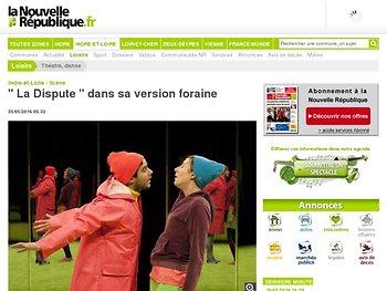 """"""" La Dispute """" dans sa version foraine"""