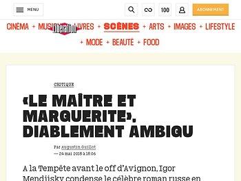 «Le Maître et Marguerite», diablement ambigu