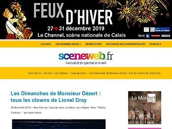 Les Dimanches de Monsieur Dézert : tous les clowns de Lionel Dray