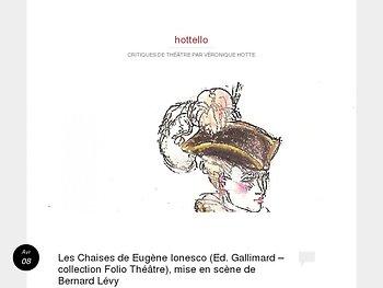 """""""Les Chaises"""" -  Solitude et désarroi d'une mort à entrevoir"""