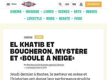 El Khatib et Boucheron, mystère et « Boule à neige »