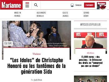 """""""Les Idoles"""" de Christophe Honoré ou les fantômes de la génération Sida"""