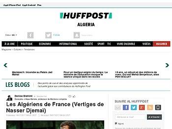 Les Algériens de France (Vertiges de Nasser Djemaï)