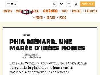 Phia Ménard, une marée d'idées noires
