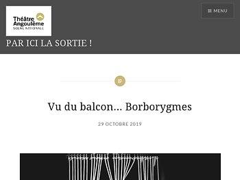 Vu du balcon… Borborygmes