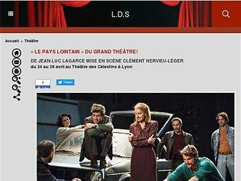 «Le pays lointain» Du grand théâtre !
