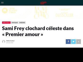Sami Frey clochard céleste dans «Premier amour»