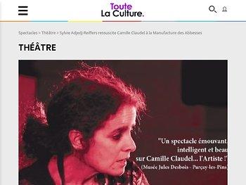 Sylvie Adjedj-Reiffers ressuscite Camille Claudel