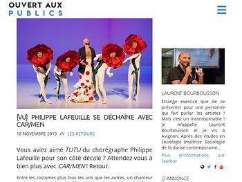 Philippe Lafeuille se déchaîne avec CAR/MEN