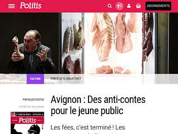 Avignon : Des anti-contes pour le jeune public