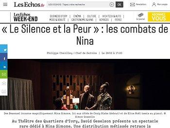 «Le Silence et la Peur»: les combats de Nina