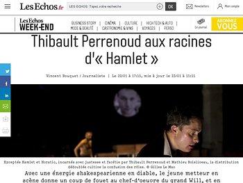 Thibault Perrenoud aux racines d'«Hamlet»