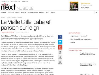 La Vieille Grille, cabaret parisien sur le gril