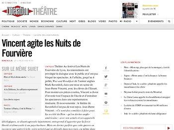 Vincent agite les Nuits de Fourvière