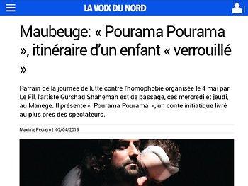 Maubeuge - « Pourama Pourama », itinéraire d'un enfant « verrouillé »