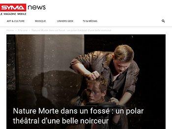 Nature Morte dans un fossé : un polar théâtral