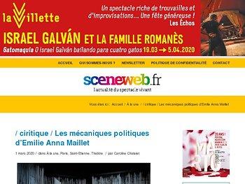 Les mécaniques politiques d'Emilie Anna Maillet